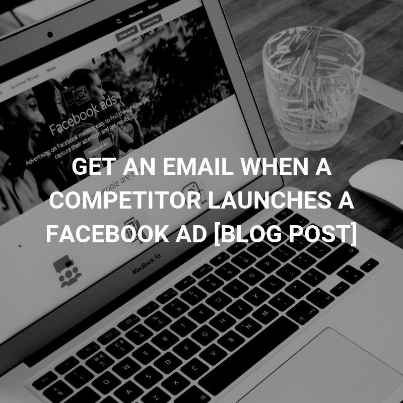 facebook ad email alerts