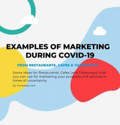 Coronavirus marketing