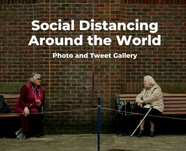 Social distancing photos
