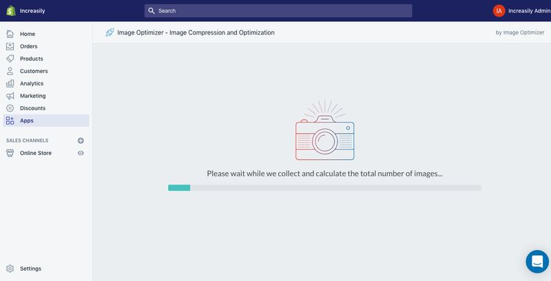 compress images on shopify image optimizer