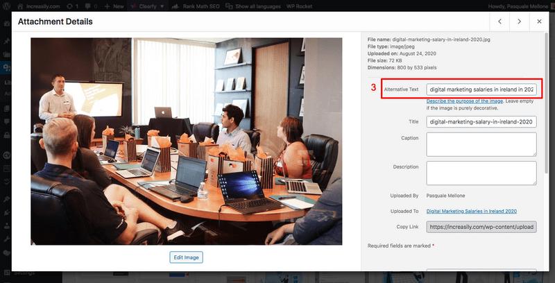 what is an alt tag wordpress