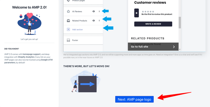 how to enable amp in shopify logo amp sheriff