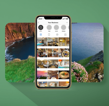 the wild atlantic lodge instagram grid