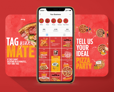 apache pizza instagram grid cover