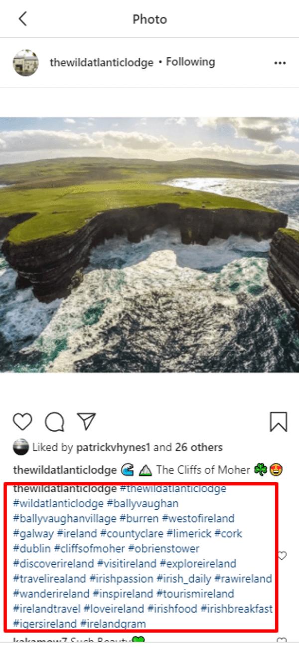 the wild atlantic lodge hashtags