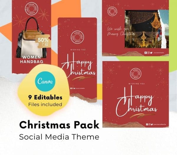 canva christmas templates