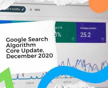 google search algorithm core update december 2020