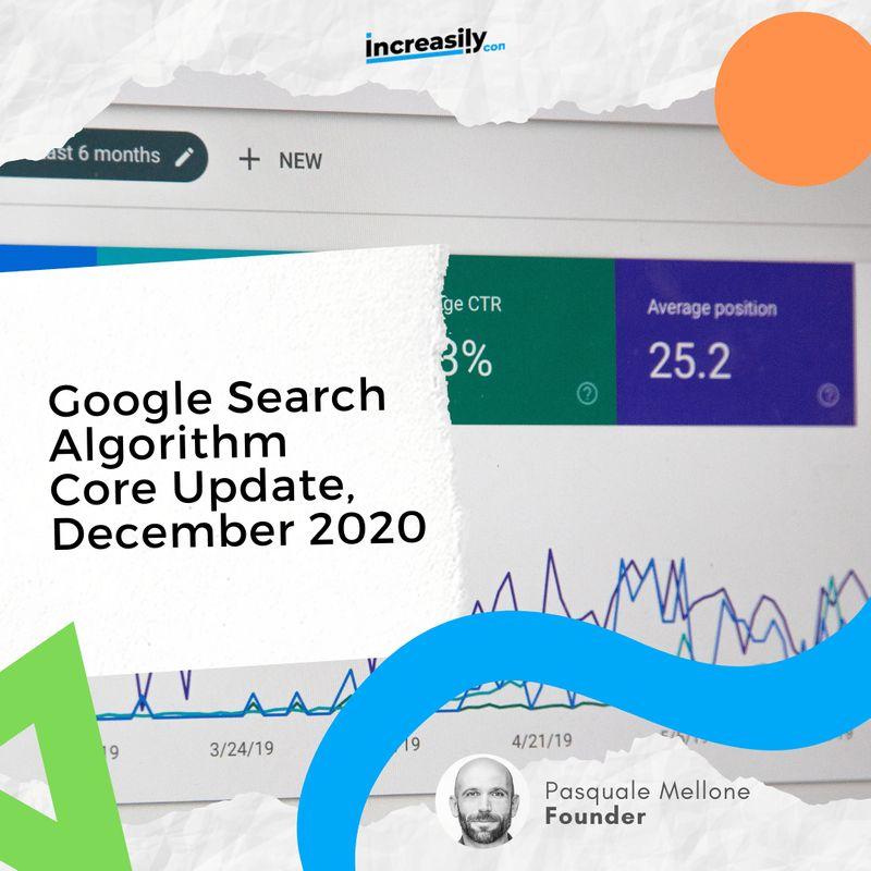 google search algorithm core update december 2020