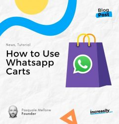 how to use whatsapp carts