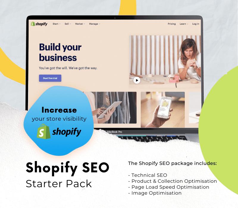 shopify seo starter pack