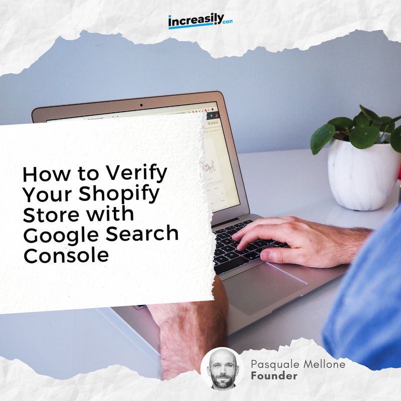 how to verify your shopify store with google search console