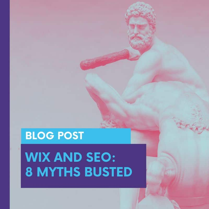 wix and seo 8 myths buster