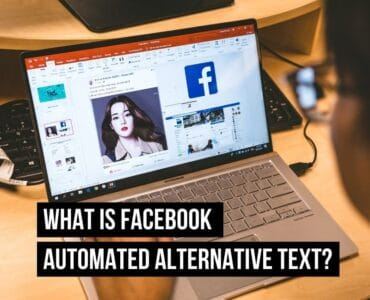 what is facebook automated alternative text