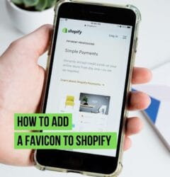 how to add a favicon to shopify