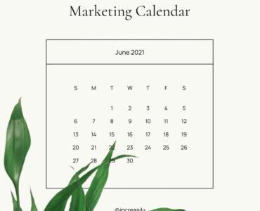 june 2021 marketing ideas