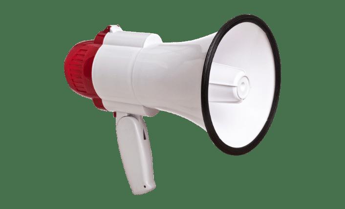 social media agency megaphone