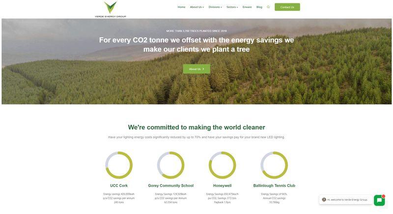 verdeenergygroup.com homepage